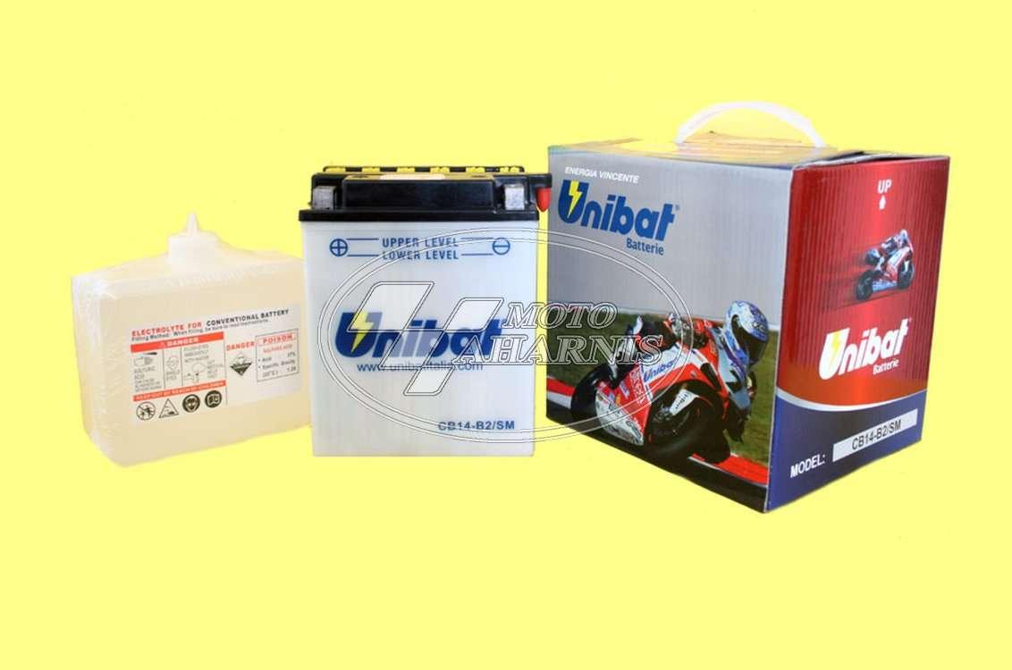 ΜΠΑΤΑΡΙΑ UNIBAT YB14-B2
