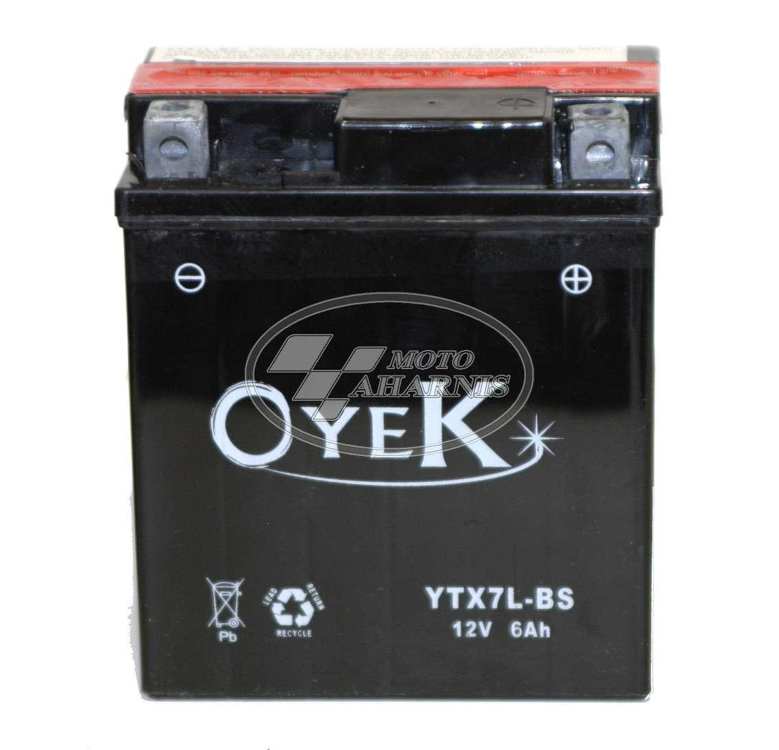 ΜΠΑΤΑΡΙΑ OYEK YTX7L-BS