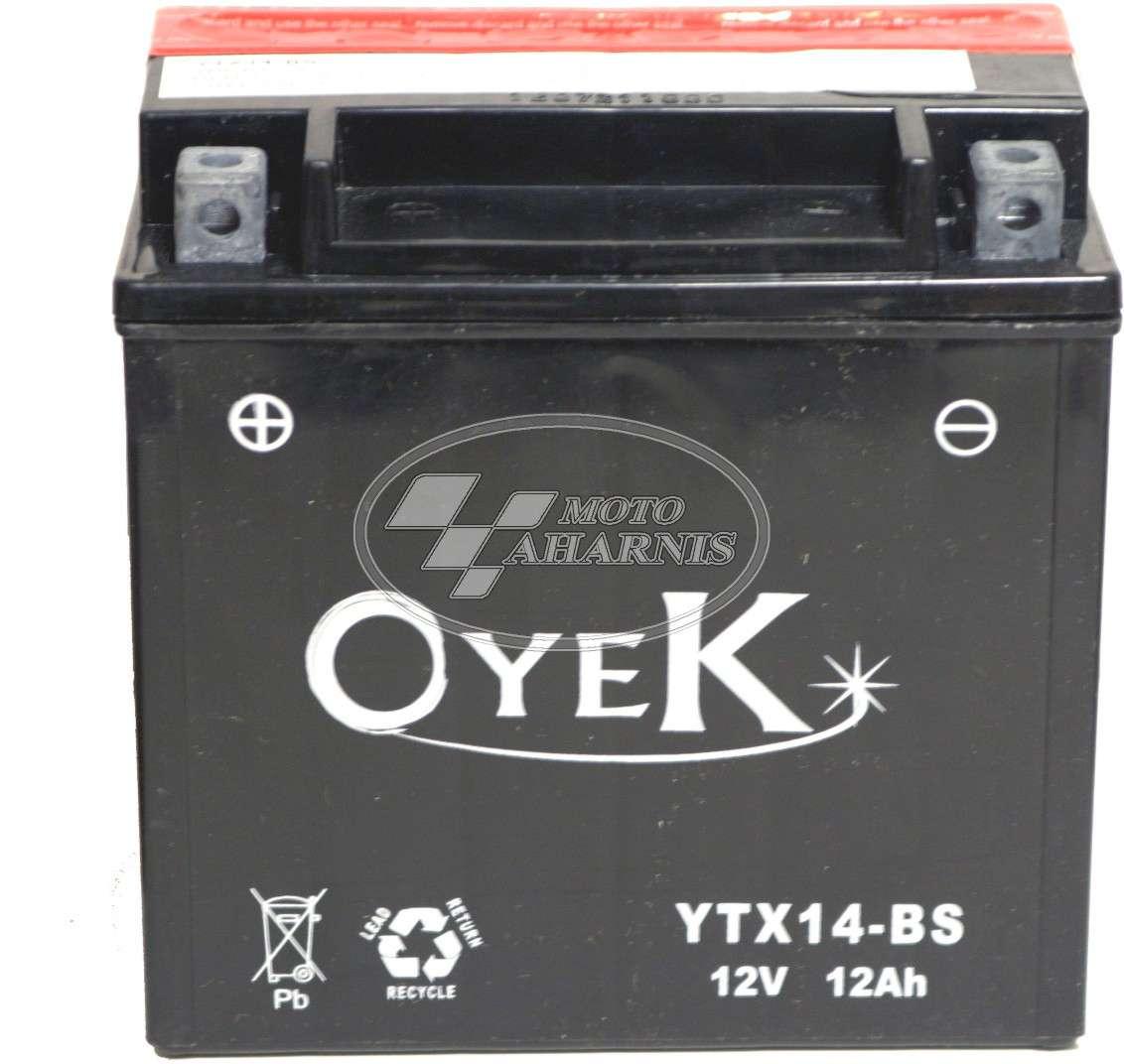 ΜΠΑΤΑΡΙΑ OYEK YTX14-BS
