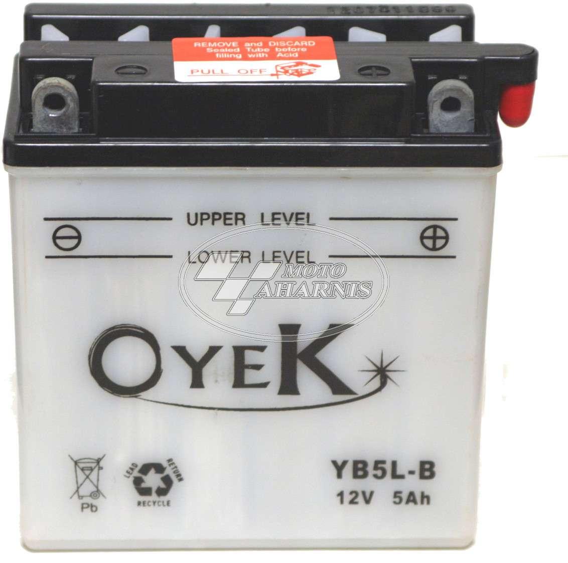 ΜΠΑΤΑΡΙΑ OYEK YB5L-Β  (12N5-3B)